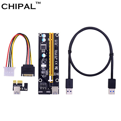 Riser card/ CHIPAL-Extender Riser Card Adapter 6 PIN Cable USB 3.0 BT