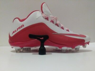 half off 19193 b62e9 NEW Nike Alpha Pro 2 TD Low Football Cleats 719930-166,Red White