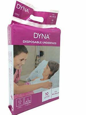 Dyna Disposable Underpad 10's Pack Size 60 X 90 cm