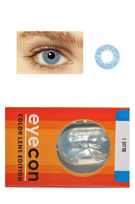 Eyecon Colored Contacts Lenses Free Case One Tone Color . More Colors Available