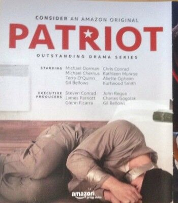 PATRIOT Terry O'Quinn Michael Dorman AMAZON Complet Season1 FYC EMMY 3 DVDs 2017