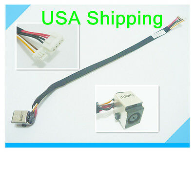 DC POWER JACK Cable Harness C420 For HP PROBOOK 4710S 6017B0199101 Charging Port