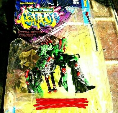 New! Green version McFarlane Toys Total Chaos Series 1 Thorax figure