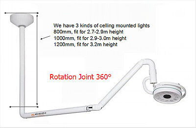 36W Dental 360° Ceiling Mounted LED Medical Exam Light Shadowless Cold Light