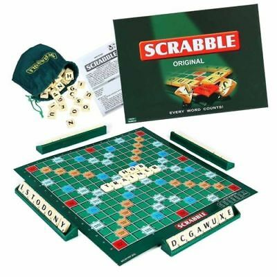 Scrabble Board Game Family Letter Classic Gift Word Puzzle Adults Home Party