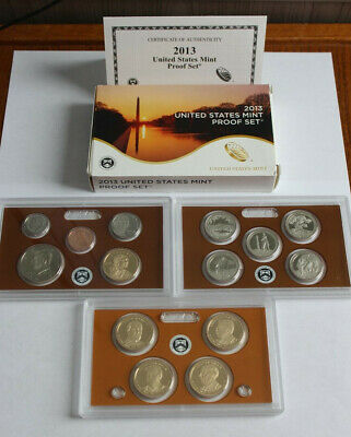 2013-S United States Mint PROOF SET 14-Coins w/Box + COA