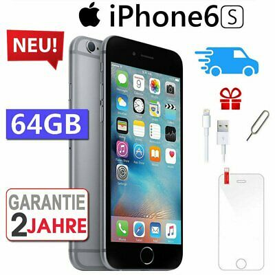 ☀️NEU Apple iPhone 6S 64GB Spacegrau Smartphone Handy Ohne Simlock - Aktion !!