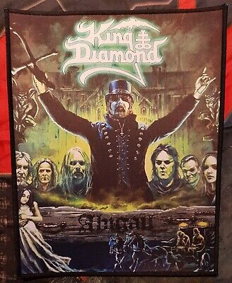 King Diamond - Abigail -  printed backpatch - FREE SHIPPING