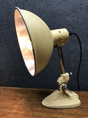 Vintage Ergon Heat Lamp Refurbished And Repurposed Into A Great Lamp, PAT Tested