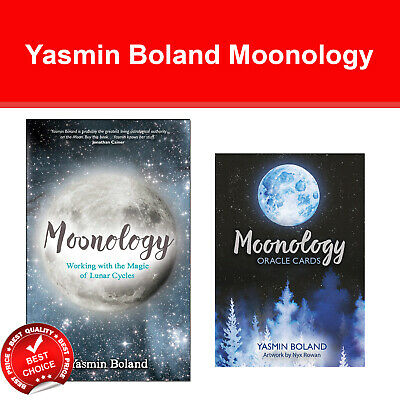 Yasmin Boland Moonology with Moonology Oracle Cards 44-Card Deck and Guidebook