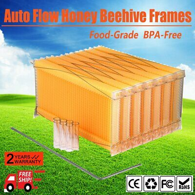 Beekeeping Hive Complete Auto Flow 7 pc Frame Honey Harvesting Bee AUSTOCK QS