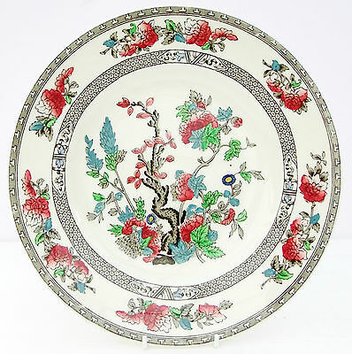 Vintage 1930s Wood & Sons Woods Ware Indian Tree Dinner Plate