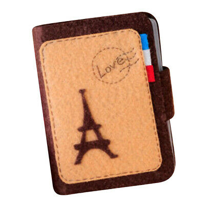 DIY Tower Card Bag Holder Non-woven Cloth Felt Sewing Crafts Set Kit Gifts
