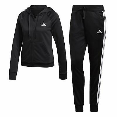 8fcd43e29954 Tuta Donna Adidas Nero Bianca Dv2436 Big Badge Of Sport Logo Grande Slim Fit