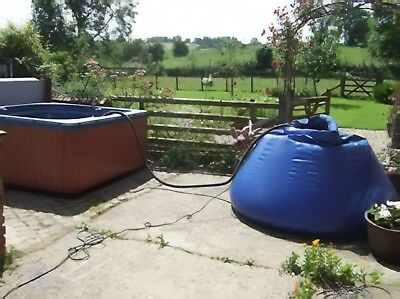 Hot Tub Spa Fast Water Transfer Bag Holiday Parks & Service 1600 Litres Capacity