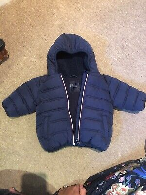 The Cheapest Price Baby Boys Lined And Padded Coat With Hood From Next Age 6-9 Months Ex Cond Clothing, Shoes & Accessories