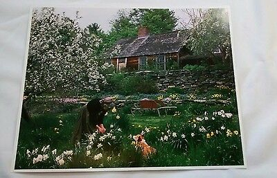 Tasha Tudor Garden Cottage Welsh Corgi Photo Print