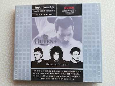 Queen – Greatest Hits Iii – Rare Cd Slipcase - New