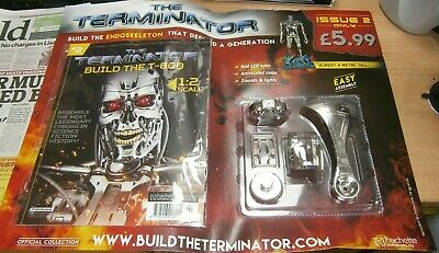 Hachette Partwork Build the T-800 Endoskeleton Terminator SCALE 1:2 Issue #2