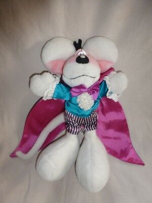 Peluche Doudou Diddl Vampire cape et dents crochus Collector RARE TBE 35cm