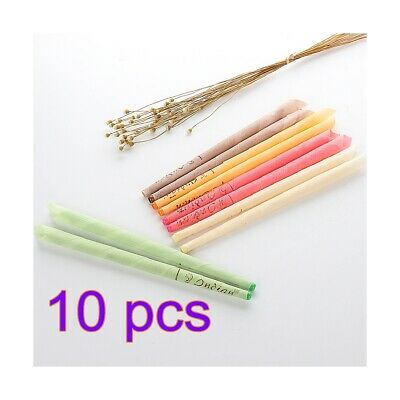 10/20Pcs Earwax Candles Hollow Blend Cones Beeswax Ear Hearing Spy Earwax Clean