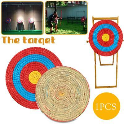 5407f639ed5 Outdoor Sports Archery Shooting Bow Straw Arrow Target Single Layer Home  Decor