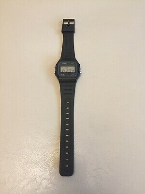 Genuine Casio f-91w Watch Excellent Condition