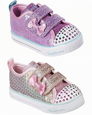 Skechers Girls Twinkle Toes: Shuffle Lite - Mini Mermaid 20063N Light Up Shoes