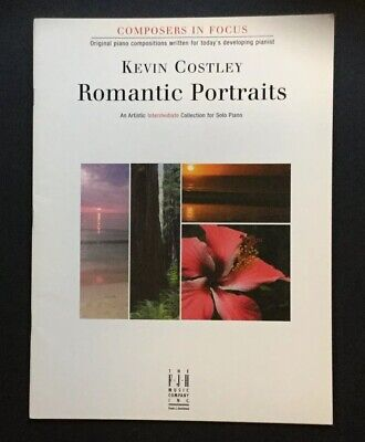 Romantic Portraits - Kevin Costley     Piano Pieces - Instruction Manual