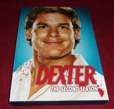 Dexter - The Complete Second Season used 4 DVD box set Michael C Hall, Erik King