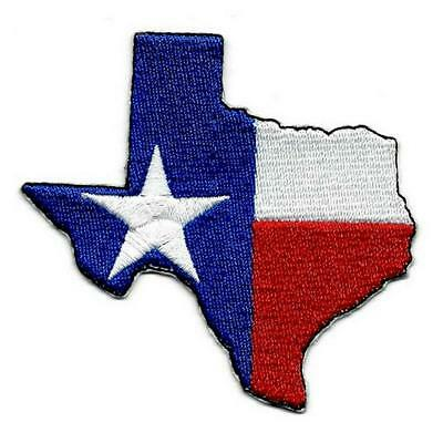 PROUD TO BE TEXAN PATCH embroidered iron-on TEXAS STATE FLAG LONE STAR EMBLEM