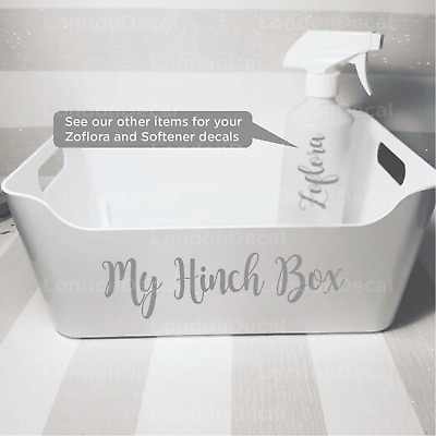 MY HINCH BOX - Mrs Hinch inspired decal stickers (Type 3)