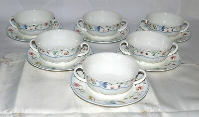 Villeroy & Boch * Mariposa * 6x Suppentasse mit UT Gedeck * China Bone * 13293