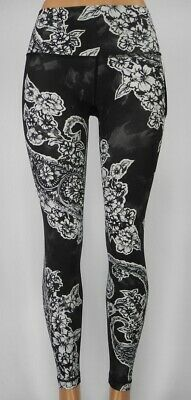 41569ade8c NEW LULULEMON Wunder Under Tight HR 2 4 6 8 Painted Paisley Silver Ice Black