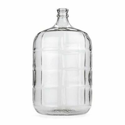 3 Gallon Glass Carboy Cider Beer Homebrew Wine Mead Moonshine Water