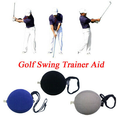 Portable Trainer Assist Golf Swing Aid Smart Inflatable Ball Posture Correction