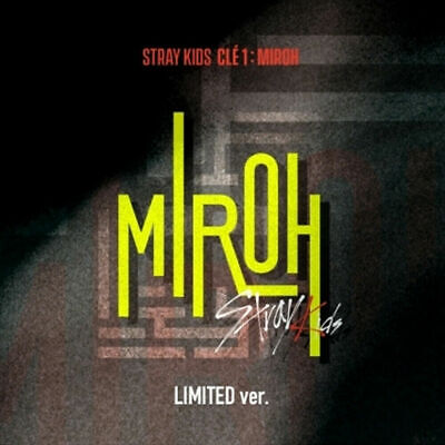 STRAY KIDS [Clé 1 : MIROH] LIMITED ver. FULL PACAKGE+P. BENEFIT+TRACKING, SEALED