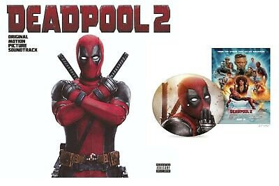 Deadpool 2 Score Vinyl Lp Soundtrack Exclusive Limited Edition With Poster *New*