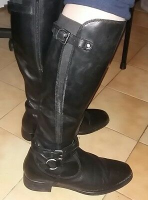 BOTTES 14 CUIR 99 VERITABLE EUR Cavaliere Taille 40 b7g6IYyvf