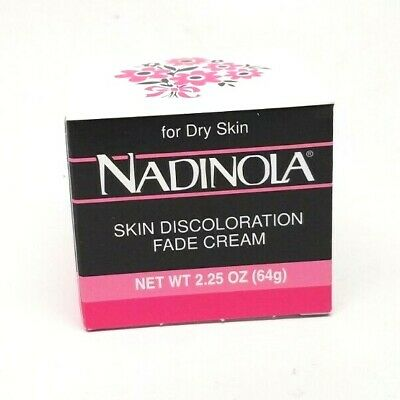Nadolina Skin Discoloration  Fade Cream - for Dry Skin 2.25 oz. FREE SHIP!!
