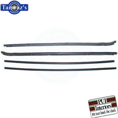 Door Weatherstrip Seals OE Style Quality Better Fit PAIR USA 78-88 A//G Body