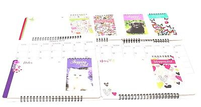 1 X 2019 New Hanging Wall Calendar Memo Board, Pad Family Organiser with Pen