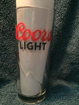 Coors Light Signiture Series 22oz Glasses
