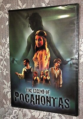 The Legend Of Pocahontas (Movie Musical) DVD NEW FAST FREE SHIPPING