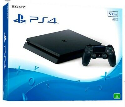 Sony PlayStation 4 500GB Jet Black Console Game+Controller Bundle!