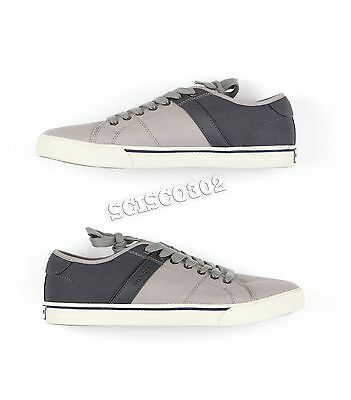 dce45e386 NEW MENS TOMMY Hilfiger Sneakers Casual Shoes Gray Roamer Size 11.5 ...
