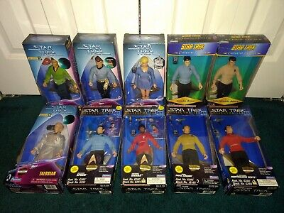 "Star Trek Classics 9"" 10 ITEMS ALL MISP Mirror Mirror Starfleet Kirk Spock Uhura"