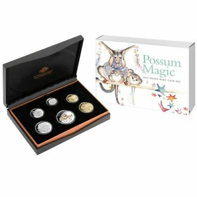 NEW Perth Mint - Baby Set Possum Magic Coin Collection 2019 Proof Coin Set