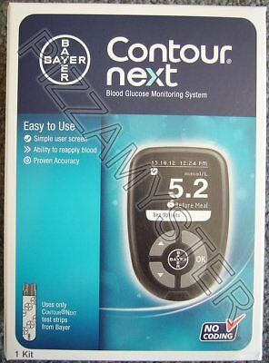 **PICKUP ONLY** Bayer Contour Next Blood Glucose Meter Monitoring System