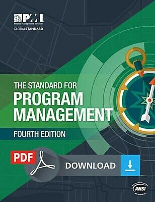 THE STANDARD FOR PROGRAM MANAGEMENT Fourth Edition PMI 🌟PDF🌟